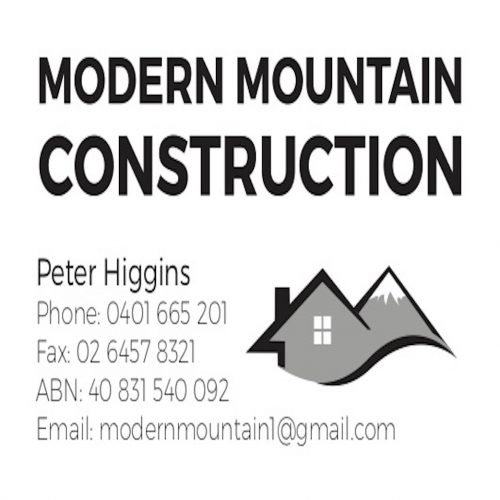 Modern Mountain Constructions